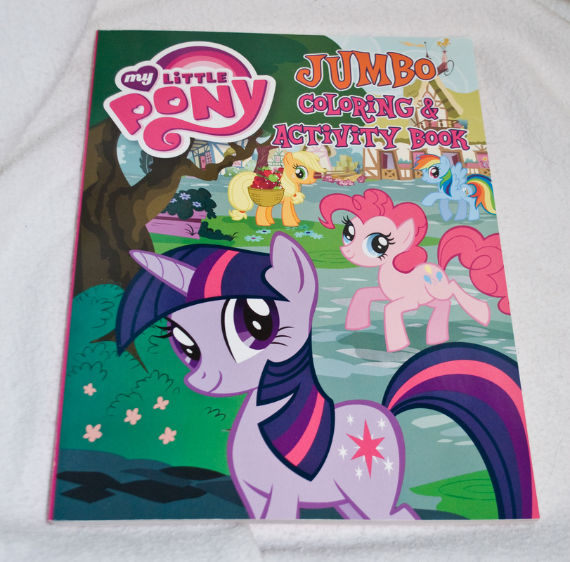 Twilight Sparkle Jumbo Coloring Book